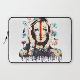 Drips of color Laptop Sleeve