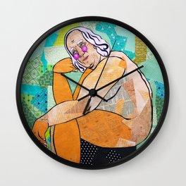 Thinkin' Wall Clock