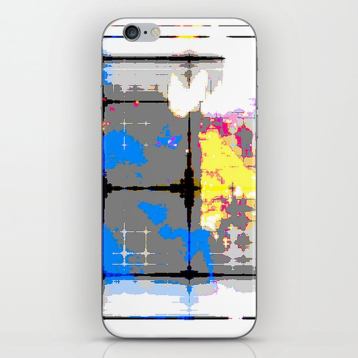 glitch abstract iPhone Skin