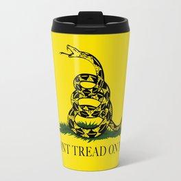 Don't Tread On Me Gadsden Flag Travel Mug