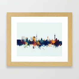 Hannover Germany Skyline Framed Art Print