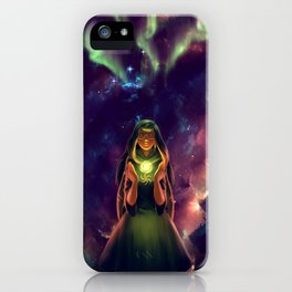Star Birth iPhone Case