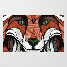 Fox // Colored Rug