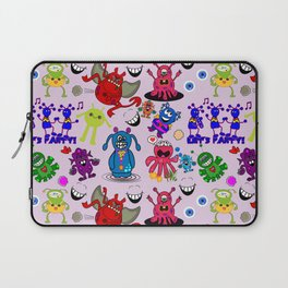Monster Party Laptop Sleeve