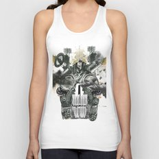 The end is death Unisex Tank Top