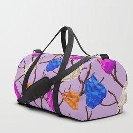 Plastic Bag Trees Duffle Bag