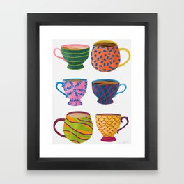 Comfort In A Cup Framed Art Print