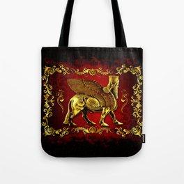 Assyrian Lamassu Tote Bag