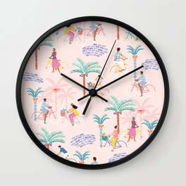 Let's Ride! Wall Clock