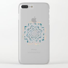 Dance of the dolphins Clear iPhone Case