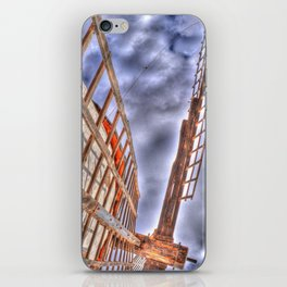 From above or below?  iPhone Skin