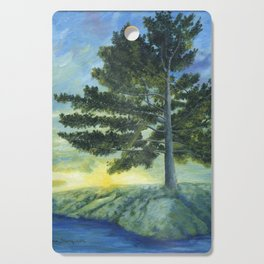 Let It Be by Teresa Thompson Cutting Board