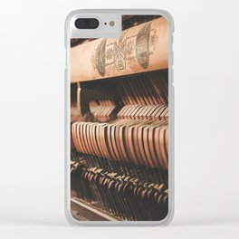musical hammers Clear iPhone Case