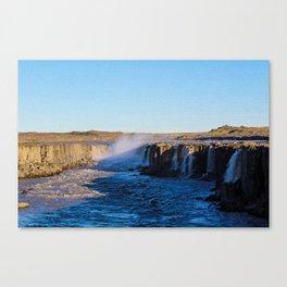 Selfoss Canvas Print