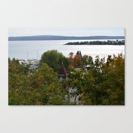 Harbor Srings Bay- View from Bluff(2) Canvas Print