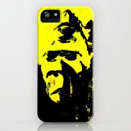 Monkey B iPhone Case