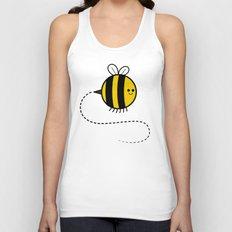 Cutesy Crawlies — Bumblebee Unisex Tank Top