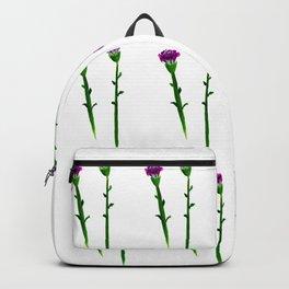 Fan's pattern design-Red carnation Backpack