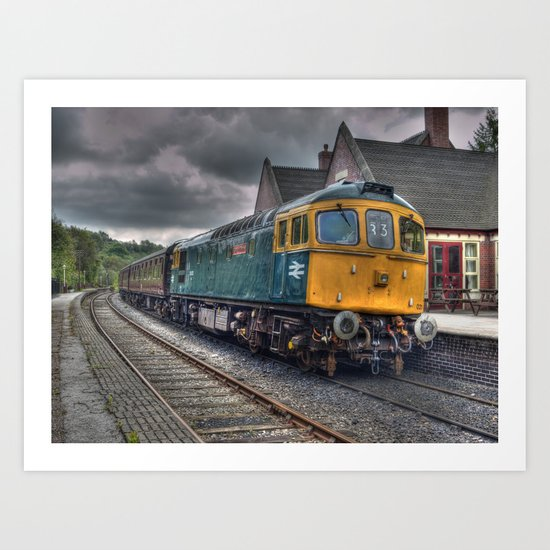 Type 33 locomotive Art Print