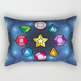 Crystal Gems Rectangular Pillow