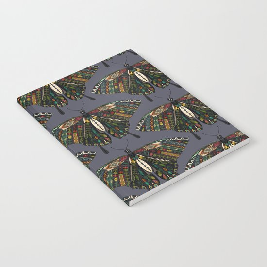 swallowtail butterfly dusk Notebook
