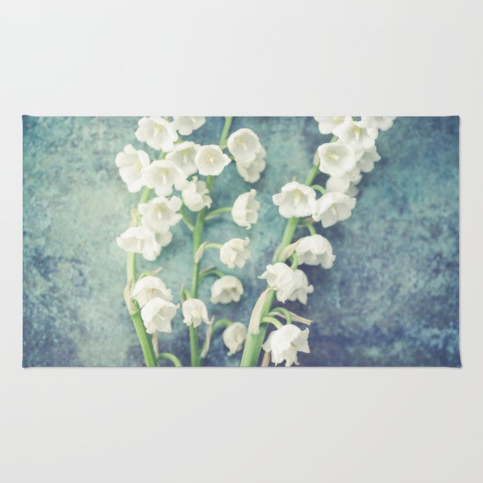 Lily Of The Valley II Rug