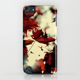Autumn Leafs iPhone Case