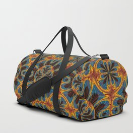 Tapestry pattern Duffle Bag