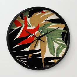 tropical spice Wall Clock