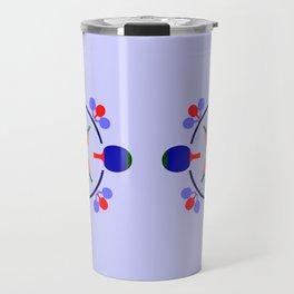 Table Tennis Design Travel Mug