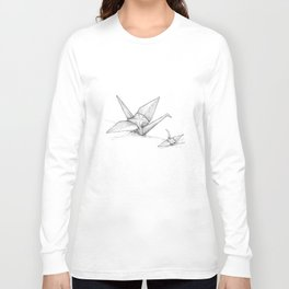 Paper Cranes Long Sleeve T-shirt
