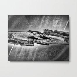 Rinsed Radial Miles Tripper Metal Print