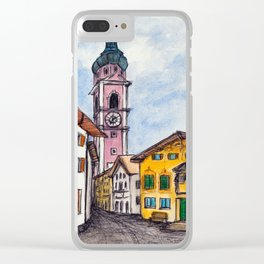 Kastelruth Castelrotto, Italy Clear iPhone Case