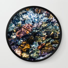 Pebble beach 4 Wall Clock