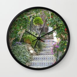 A garden in Spain Wall Clock