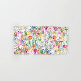 Tropical Botanical Sketchbook  Hand & Bath Towel