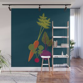 Vegetable Medley Wall Mural