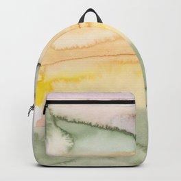 17   | Abstract Minimal Watercolor Painting | 191223 Backpack