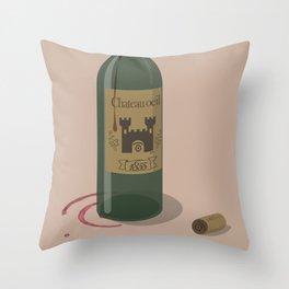 chateau œil Throw Pillow
