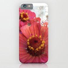 Zinnia flowers Slim Case iPhone 6s