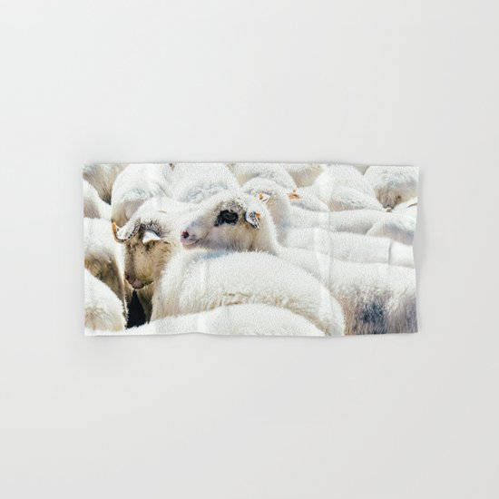Sheep Flock Hand & Bath Towel