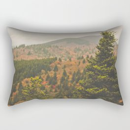 Evergreen Fall (Asheville, North Carolina, USA) Rectangular Pillow