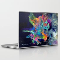 archan nair Laptop & iPad Skins featuring Embrace by Archan Nair