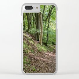 Up or Down Clear iPhone Case
