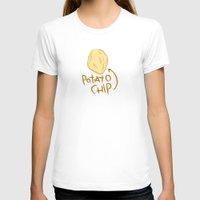 potato T-shirts featuring POTATO CHIP by Josh LaFayette
