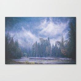 Misty Magic Canvas Print