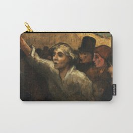 "Honoré Daumier ""The Uprising (L'Emeute)"" Carry-All Pouch"