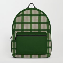 Evergreen Cozy Cabin Plaid Backpack