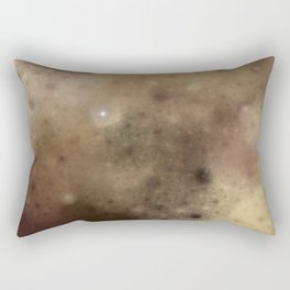 Surface of the moon ....  (A7 B0174) Rectangular Pillow