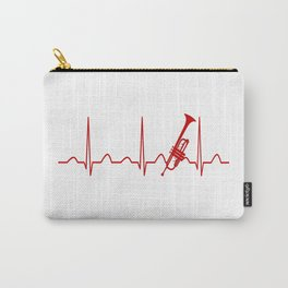 TRUMPET HEARTBEAT Carry-All Pouch